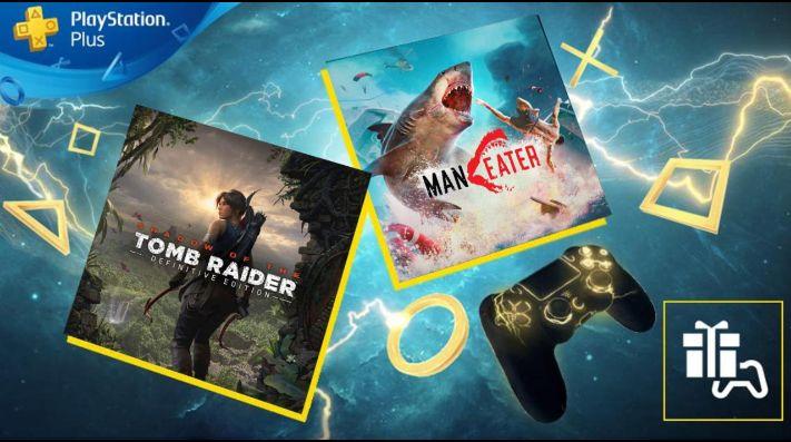 Shadow of the Tomb Raider y Maneater entre los juegos de PS Plus de enero 2021 | Bolavip