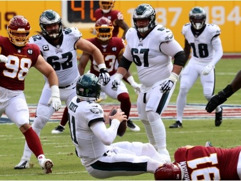 Washington look to clinch playoff berth vs Eagles