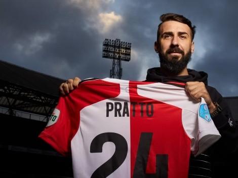 Feyenoord arrancó el 2021 con todo: hizo oficial a Lucas Pratto
