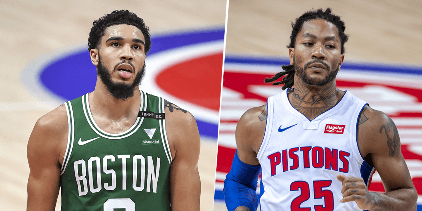 Boston Celtics vs. Detroit Pistons por la NBA.