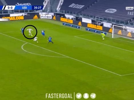 Video: Cristiano Ronaldo sacó un bombazo infernal y puso el primero de Juventus