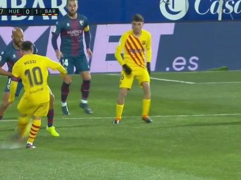 Video: Messi frotó la lámpara y asistió de De Jong para que festeje Barcelona