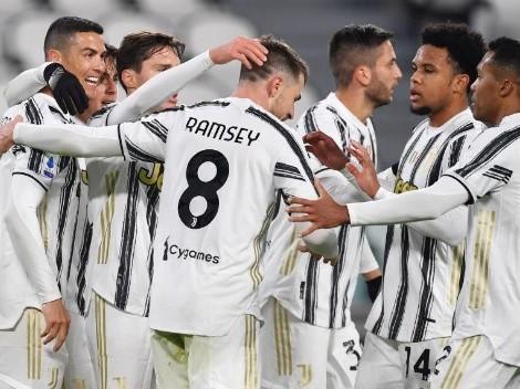 Doblete de Cristiano Ronaldo, gol de Dybala y victoria de Juventus sobre Udinese