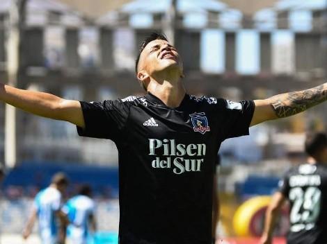 El primer peruano en meter gol: Gabriel Costa le dio el triunfo al Colo-Colo