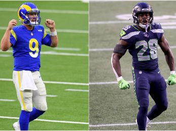 Rams y Seahawks (Fotos: Getty)