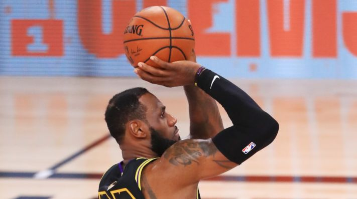 LeBron James, estrella de Los Angeles Lakers