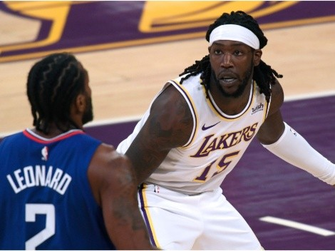Lakers' Montrezl Harrell throws massive shade at the Clippers... Again