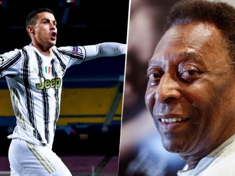 A Cristiano Ronaldo no le gusta esto: el último cambió de Pelé en Instagram