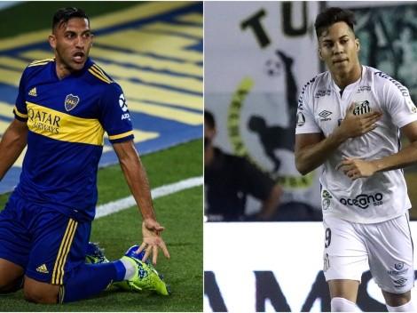 Boca host Santos today at La Bombonera for Copa Libertadores semifinals
