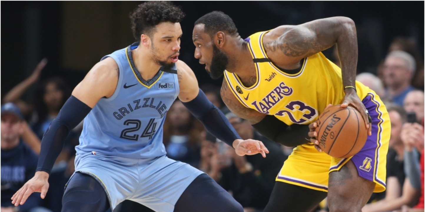 Los Angeles Lakers ante Memphis Grizzlies