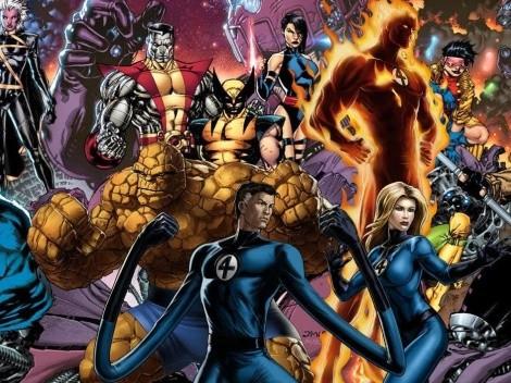 El crossover de Marvel que no vimos: X-Men vs. Fantastic 4, con Deadpool y Daredevil