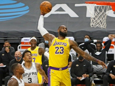 Lakers and Spurs meet for the third time in two weeks