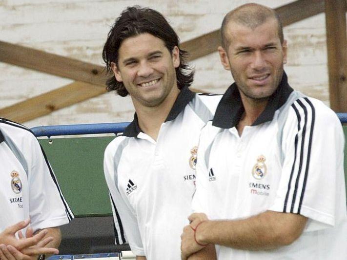 Solari y su actuación en la famosa volea de Zinedine Zidane