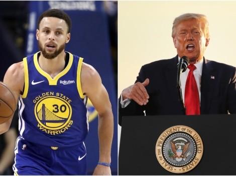 Stephen Curry, NBA players blast Donald Trump with a savage tweet