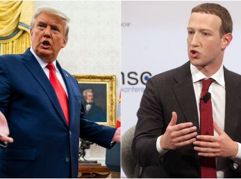 Mark Zuckerberg dejó sin redes sociales a Donald Trump (Foto: Getty)