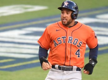 George Springer, ex jardinero de Houston Astros