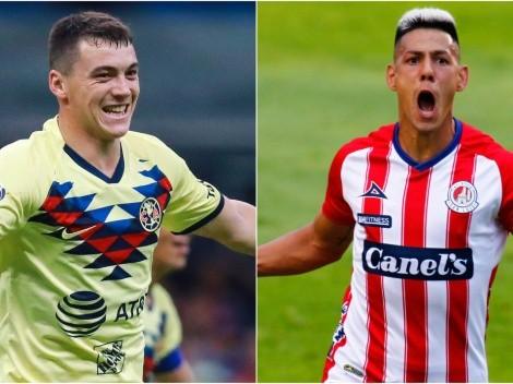 América and Atlético San Luis meet today at Estadio Azteca