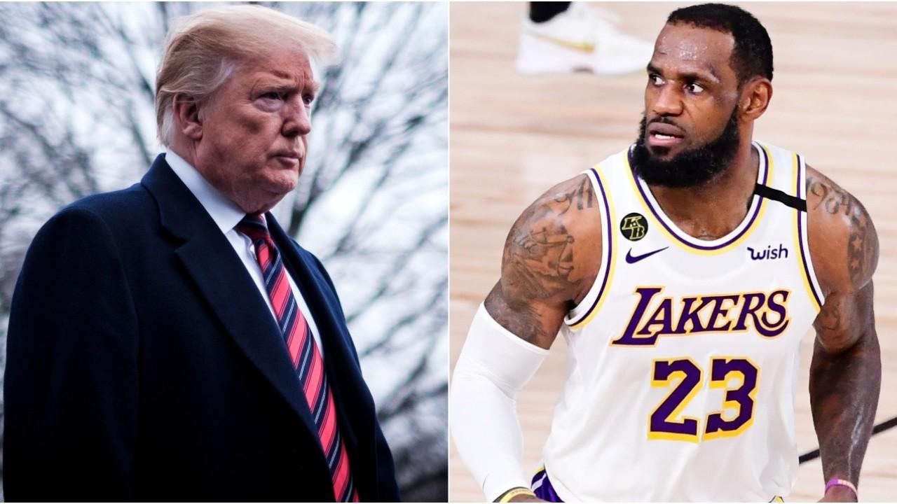 Donald Trump fue suspendido en Twitter: LeBron James y la NBA ganaron su  guerra | Bolavip