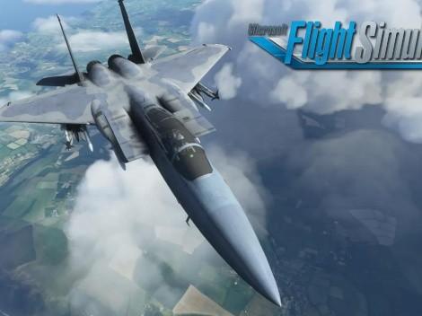 Así luce el F-15 que llegará a Microsoft Flight Simulator este mes