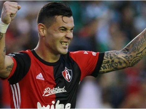 Caraglio fue convocado en Atlas y debutaría ante Monterrey