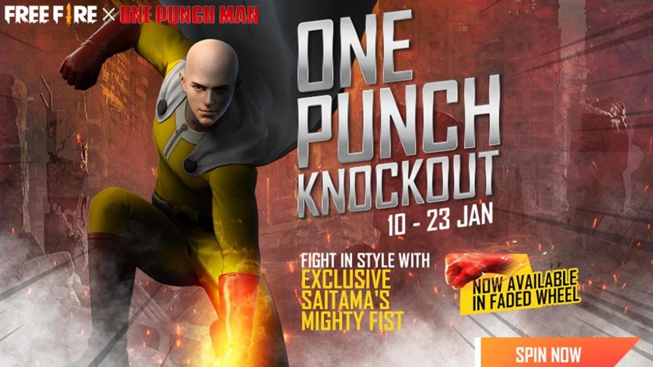 Free Fire Como Conseguir Los Cosmeticos Exclusivos De One Punch Man Bolavip