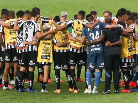 Cuidado, Boca: con suplentes, Santos tumbó al puntero Sao Paulo