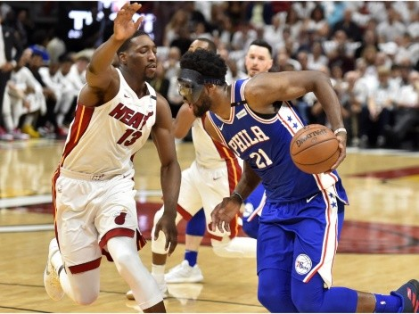 Philadelphia 76ers and Miami Heat meet today at Wells Fargo Center
