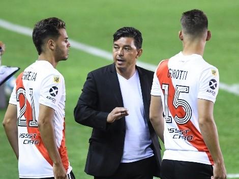 Gallardo sacó a la luz qué le dijo a sus jugadores luego de la derrota vs. Independiente