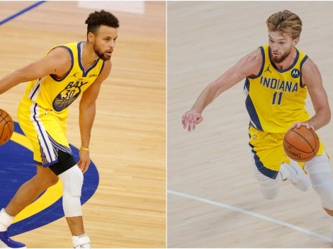 Warriors and Pacers meet tonight at the Chase Center