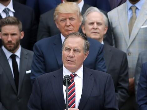 ¿Nadie lo quiere? Belichick no recibirá la medalla que Trump le iba a dar