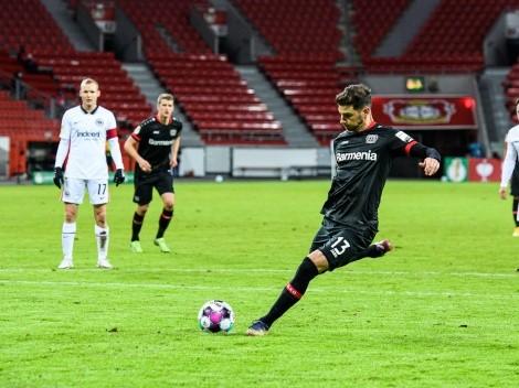 Alario hizo un gol y marcó el camino para la goleada del Bayer Leverkusen