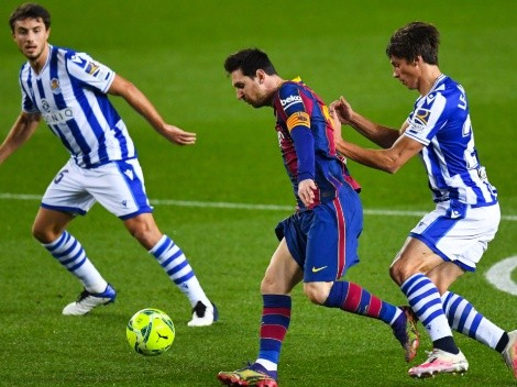 Barcelona and Real Sociedad clash in first Spanish Super Cup semi-finals