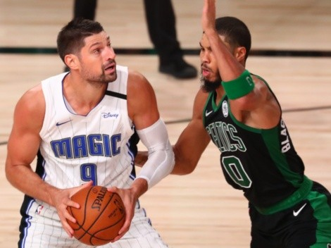 The Celtics host Orlando Magic after their first clash got suspended