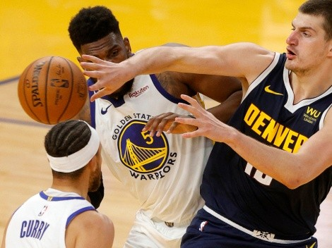Nuggets host Warriors in high-flying game