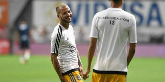Alivio para Tigres UANL: Inter de Porto Alegre negó la contratación de Nicolás López - Bolavip