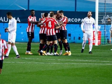 Sorpresa: Bilbao eliminó al Madrid y jugará la final de la Supercopa ante el Barcelona