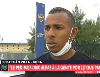 """Villa habló sobre su video en una fiesta: """"No era el momento para subirlo"""""""