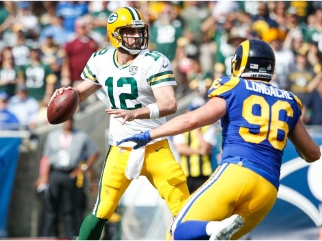 Rams travel to Lambeau Field to try and knock out Aaron Rodgers and the Packers