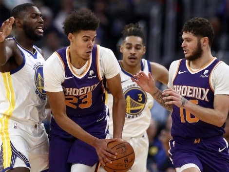 The Warriors and the Suns finally face each other in previously-postponed game