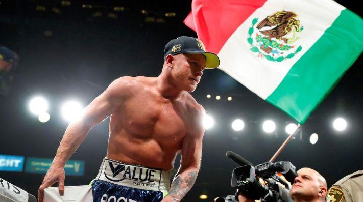 Canelo Álvarez está a un firma de volver al ring en febrero.