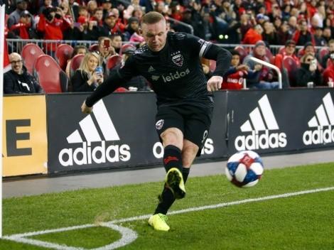 El homenaje de la MLS a Wayne Rooney por su retiro del fútbol profesional