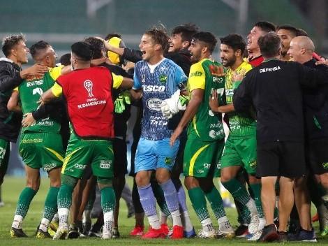 Defensa le ganó a Coquimbo y habrá final argentina en la Sudamericana