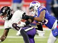 Lamar Jackson contra Buffalo Bills