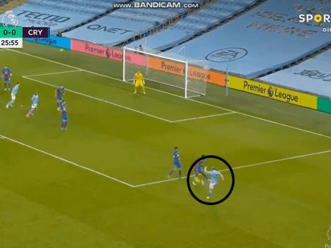 Video: De Bruyne metió una asistencia irreal para el gol de Stones