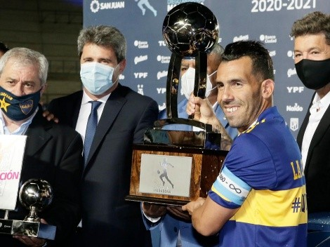 La camiseta especial de Boca tras ganar la Copa Diego Maradona