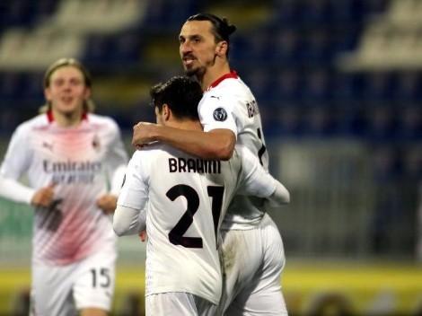 Un doblete del irreal Ibrahimovic consolidó a Milan en lo más alto de la Serie A