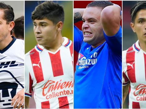 Jonathan Rodríguez y los últimos jugadores de fiesta en la Liga MX