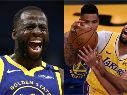 Draymond Green y Anthony Davis