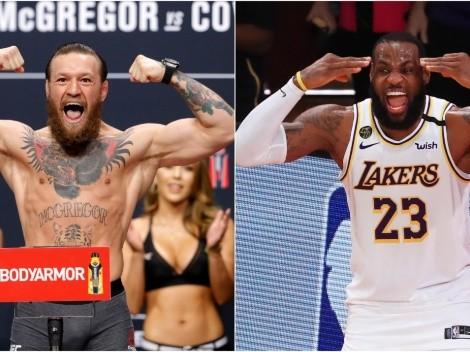 Conor McGregor breaks down how LeBron James has inspired him