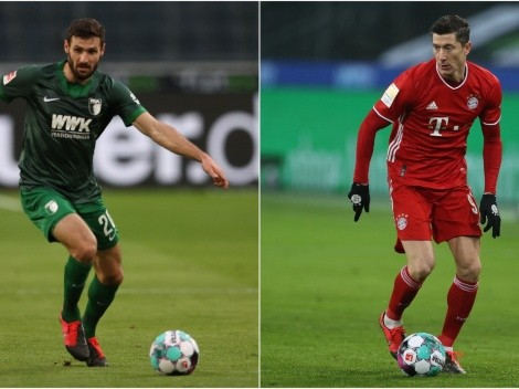 Augsburg receive Bayern trying to surprise the Bundesliga champions